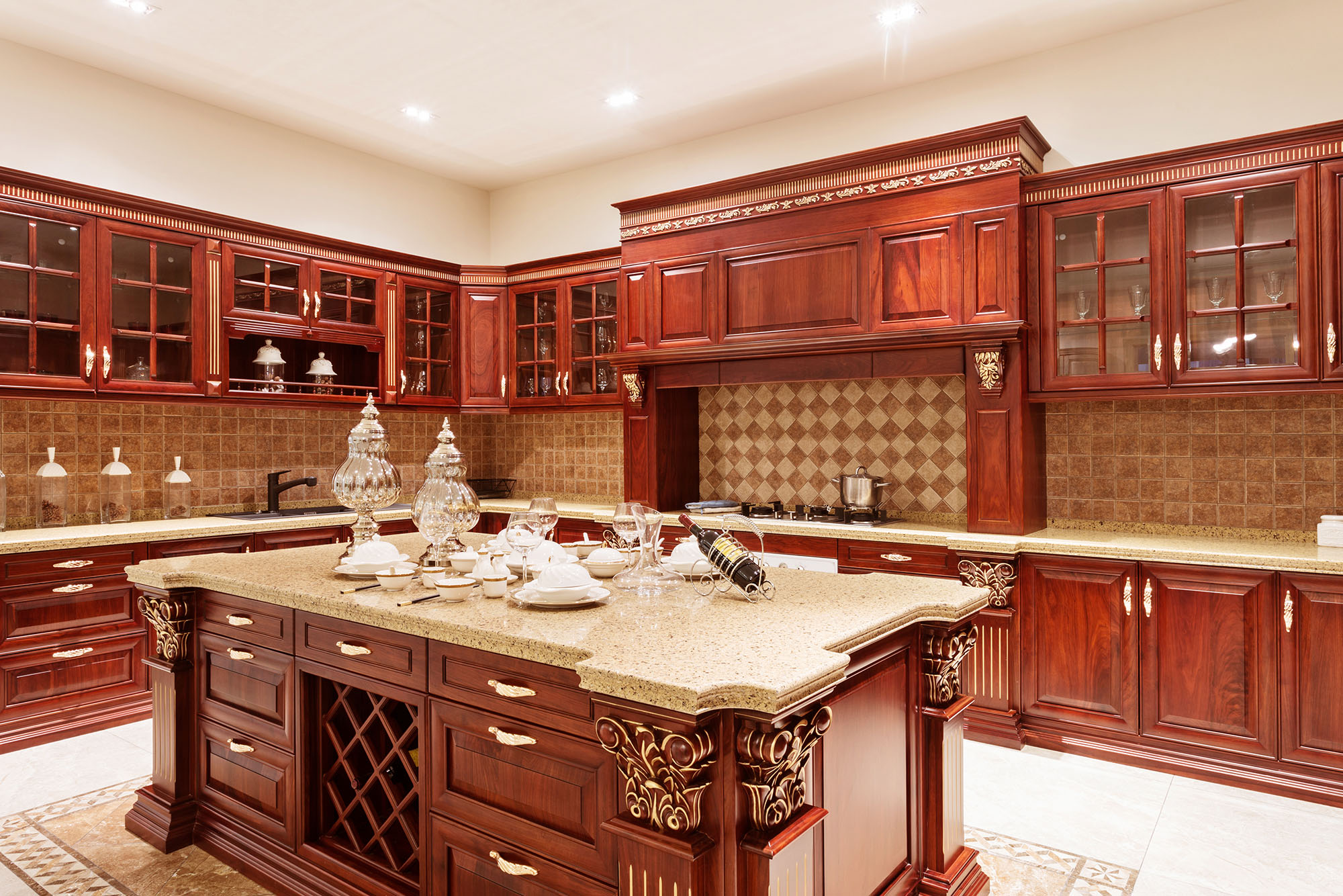 Wooden kitchens - Luxury kitchen cabinets ...