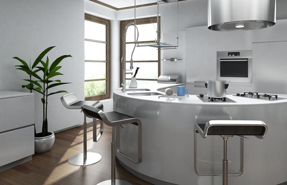 Round Kitchen Design Designer Kitchens