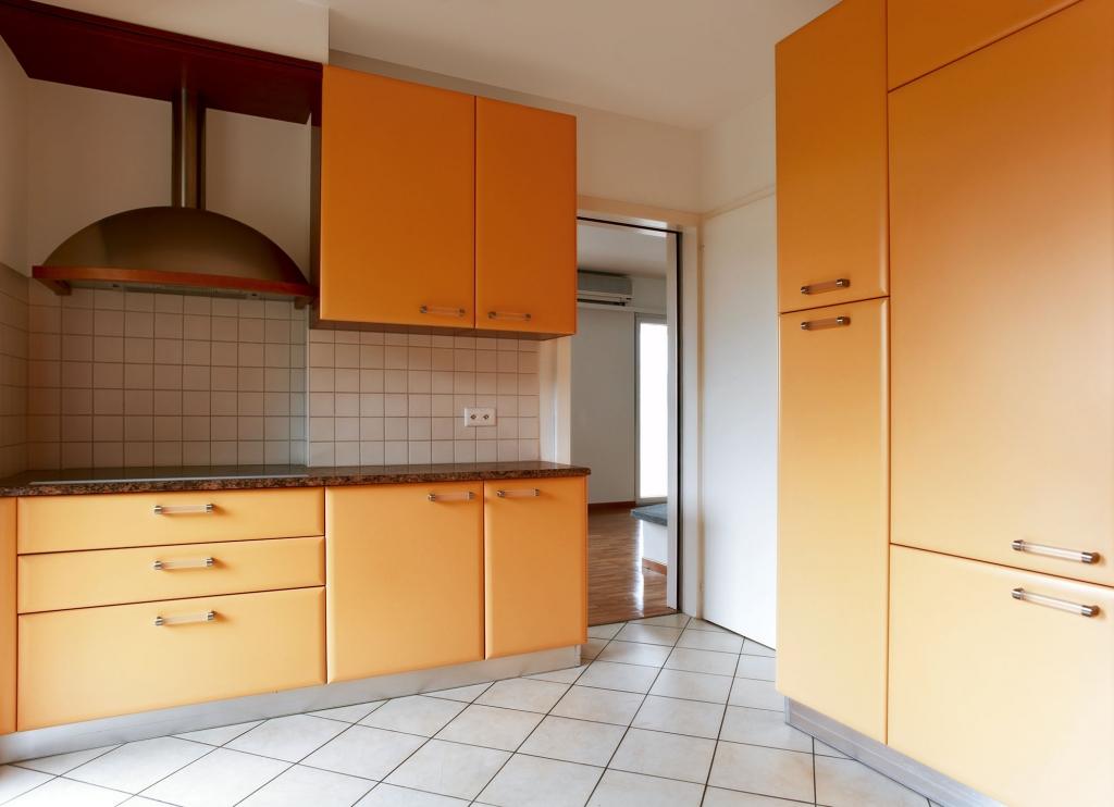 orange kitchens - positive and uplifting feel