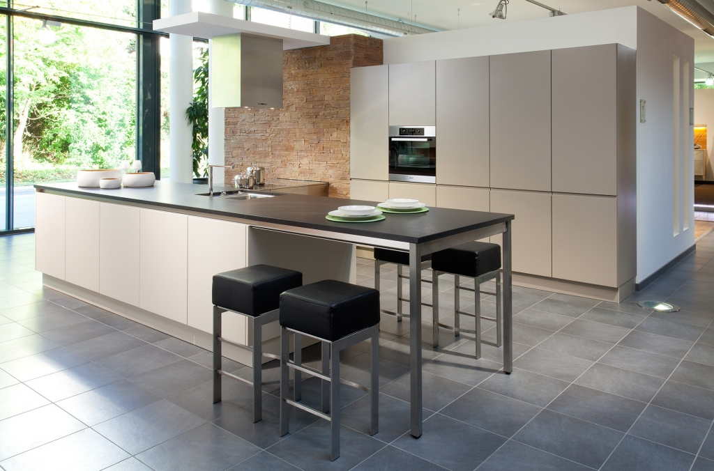 Contemporary kitchens for Handless kitchen units