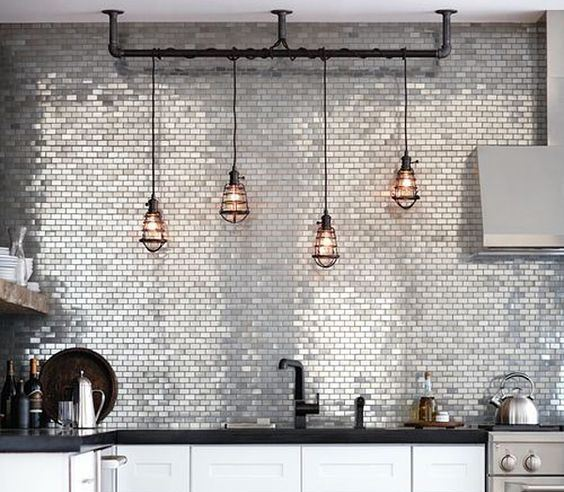 10 exceptional lighting ideas for your kitchen space for Cool kitchen lighting ideas