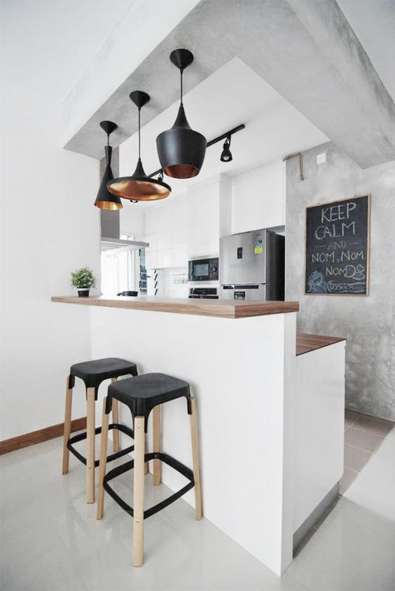 Modern designs for small kitchens
