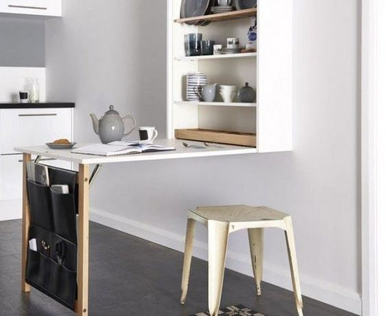 How to stylishly incorporate a dining area in small kitchens for Small kitchen with dining area