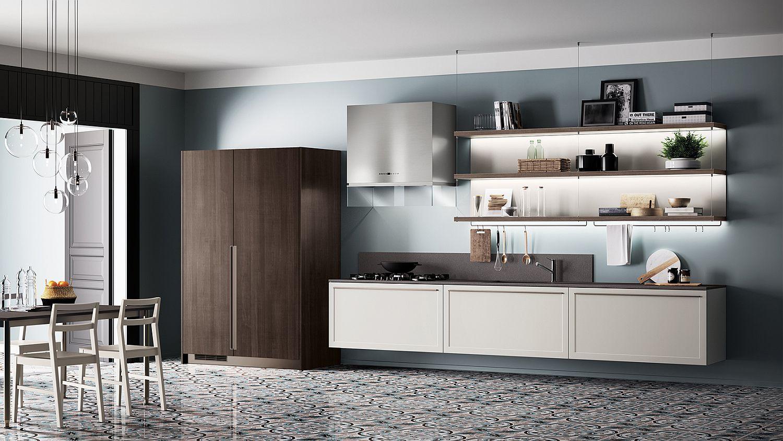 Classic contemporary kitchen designs for Classic modern kitchen designs