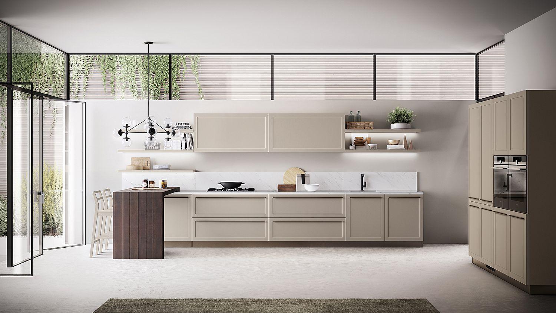 Classic contemporary kitchen designs for Classic contemporary kitchen