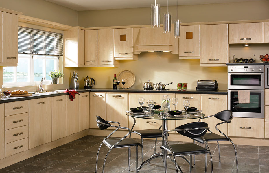 Ash Oak Kitchen Cabinets