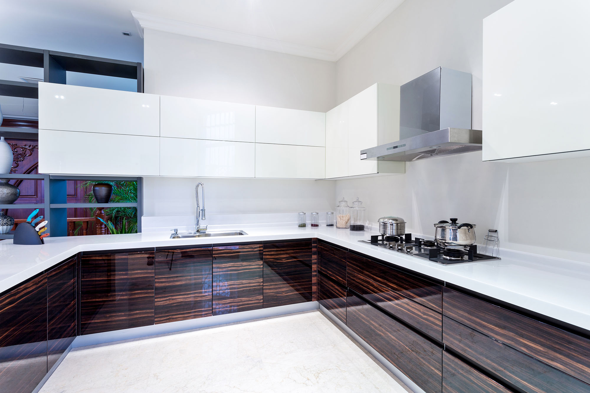 High Gloss Kitchen Design