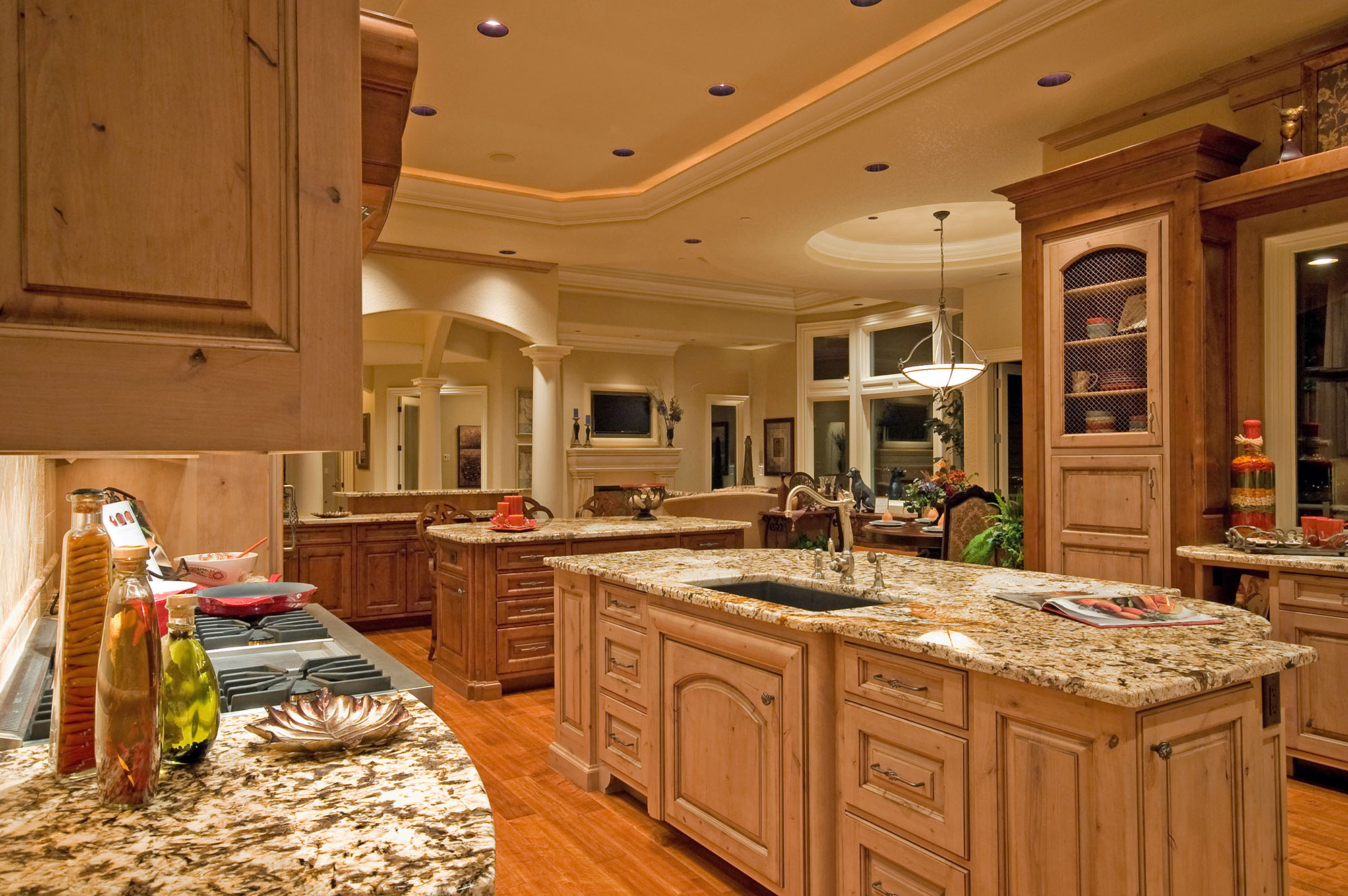 Oak Kitchen Design