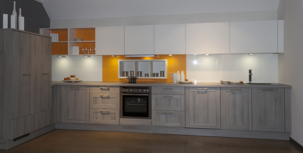 bauformat kitchens premium quality german kitchens On grey kitchen wall units