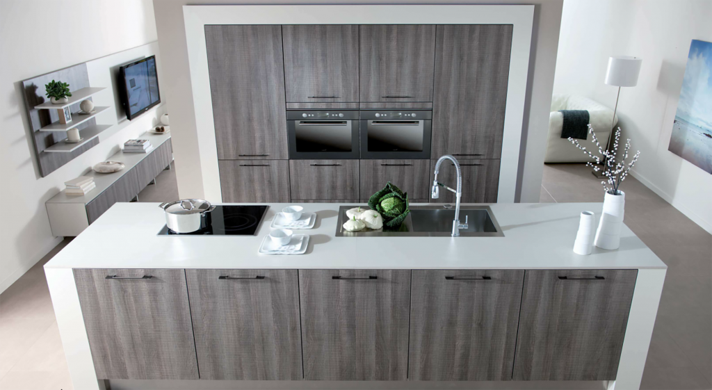The perfect kitchen in radlett for Modern white and gray kitchen