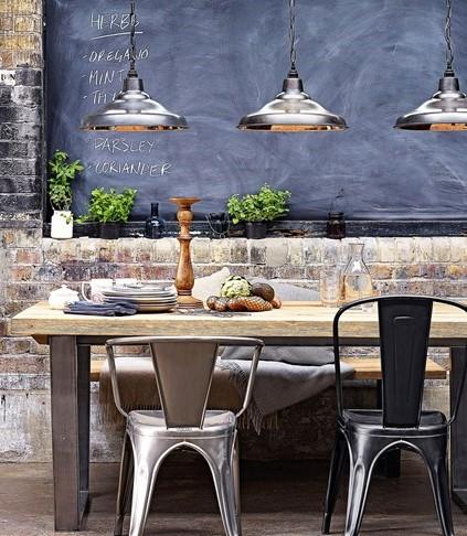 15 kitchen design ideas for Industrial style kitchen uk