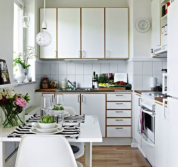 Simple Ways To Stylishly Transform Your Small Kitchen