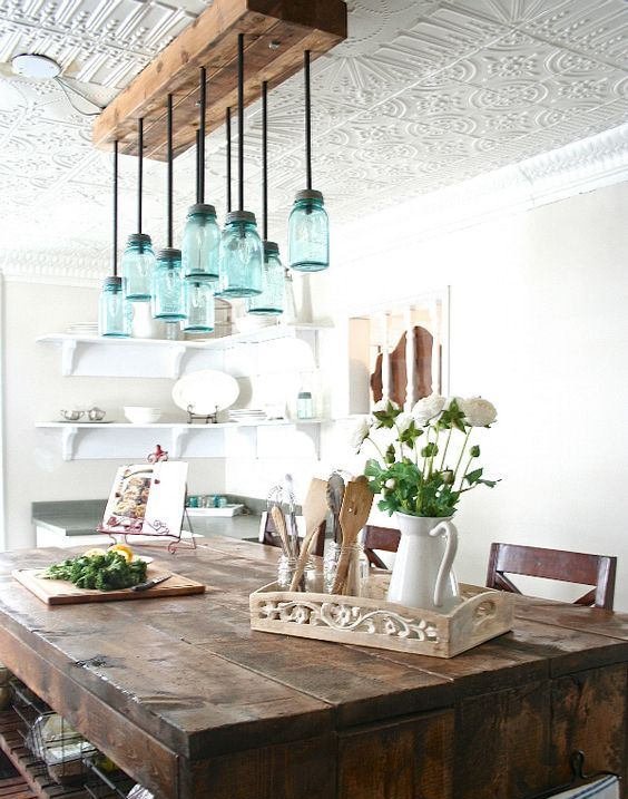 10 exceptional lighting ideas for your kitchen space for Diy kitchen lighting design