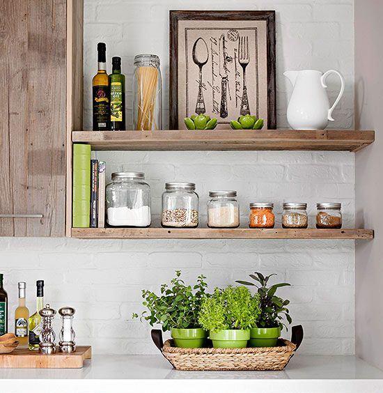 Genial Display Your Kitchen Goods
