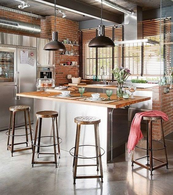 industrial kitchen design how to create an industrial themed kitchen space 1838