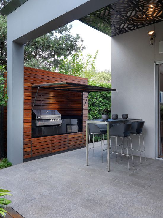Outdoor Hidden Kitchen