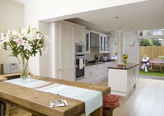 Create value to your kitchen by building a kitchen for Building a kitchen extension ideas