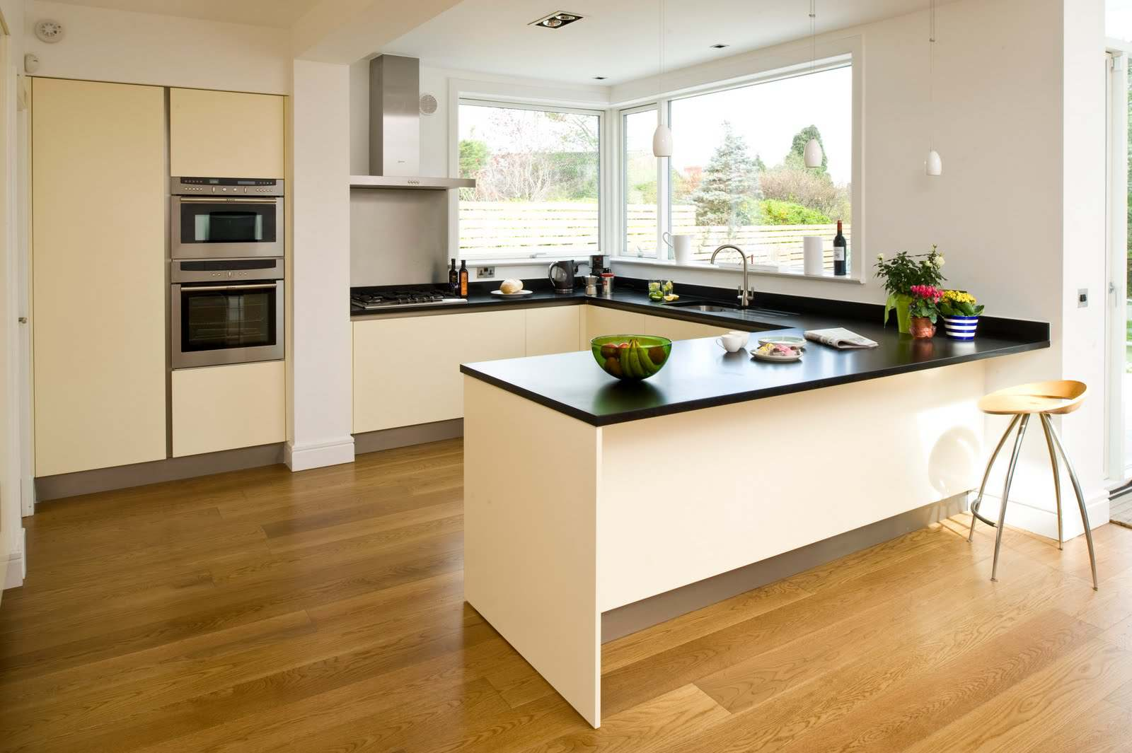Let us explore the different kinds of kitchen layouts that may suit your style. Bear in mind that the size and shape of the room can directly influence the ... & Varieties Of Kitchen Layouts | Designer Kitchens