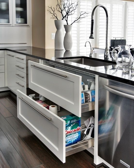 Opt for deep drawers