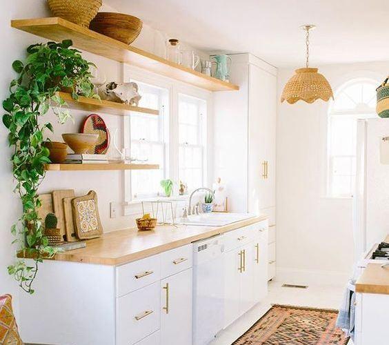 Trendy Kitchen Galley Designs