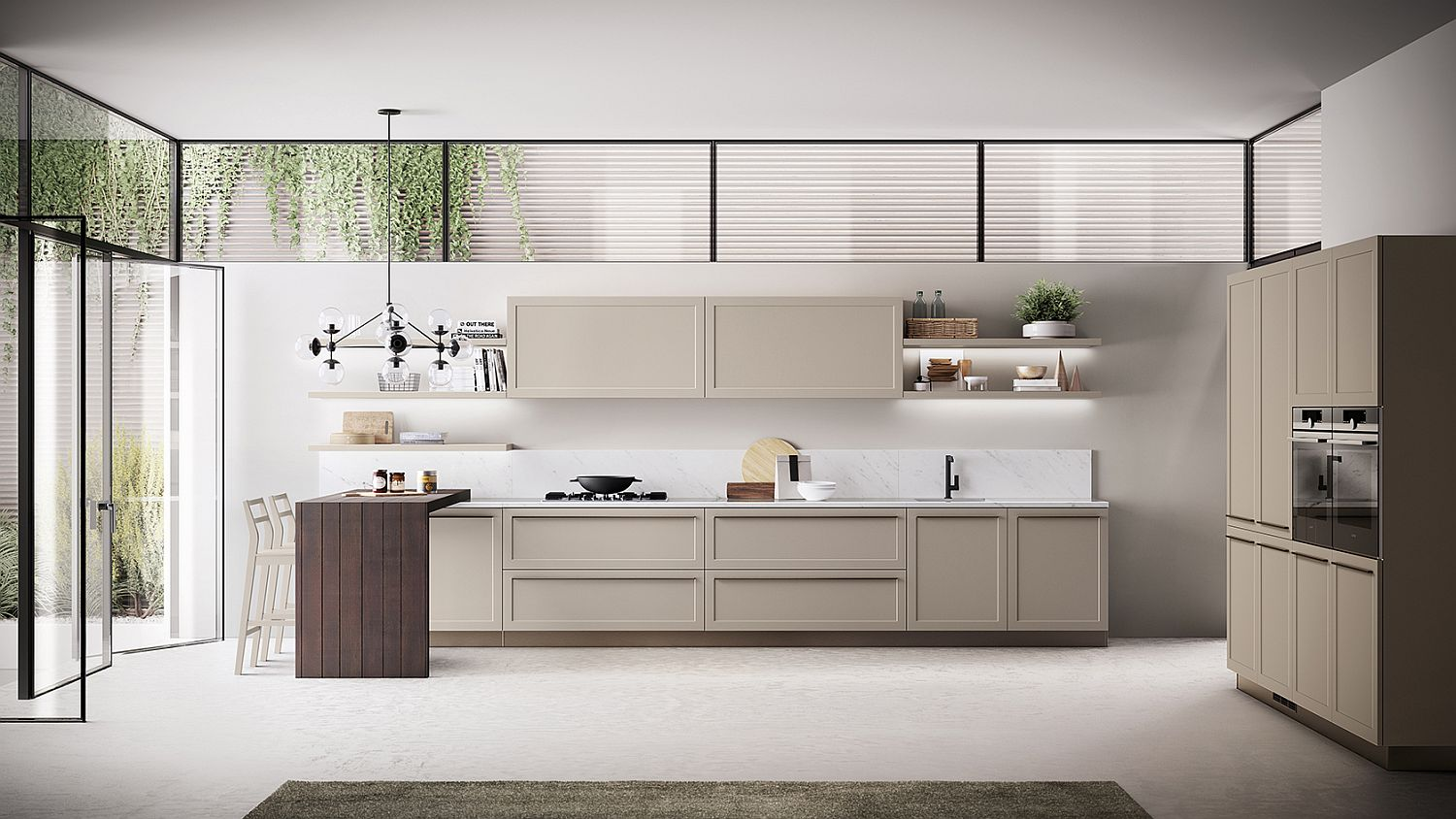 Classic-Contemporary Kitchen Designs on Modern Kitchen Design  id=18186