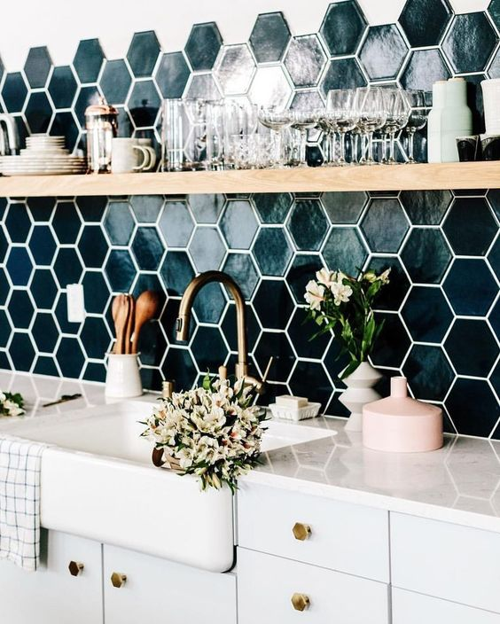Install Creative Backsplash