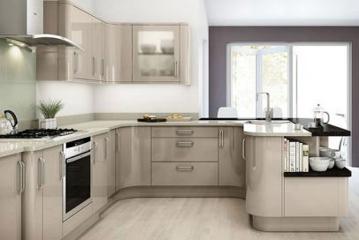 How to clean high gloss kitchen