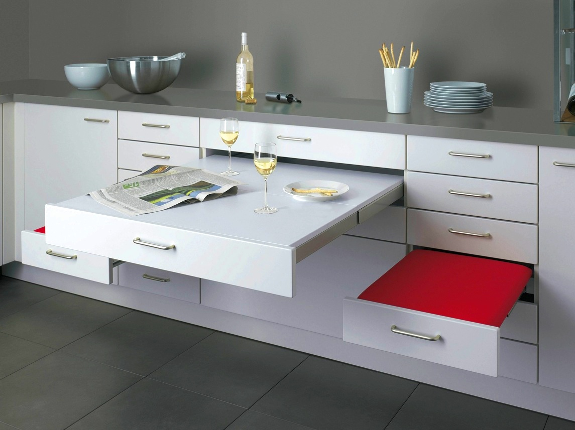 Contemporary Kitchen Design smart storage