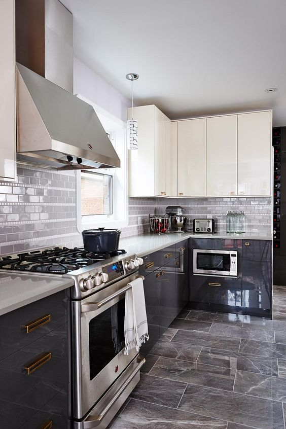 Pros And Cons Of High Gloss Kitchen Tiles Designer Kitchens
