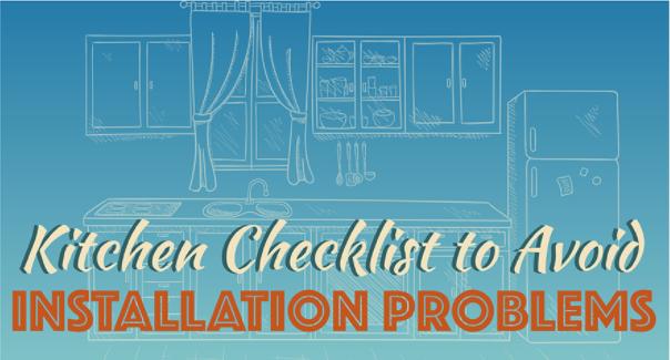 Kitchen installation tips